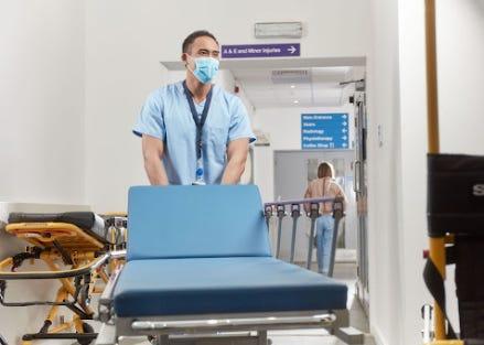 Nurse on shift